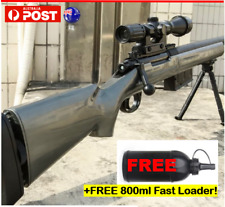 GJ M24 Gel Ball Blaster Manual Bolt Action Mag-fed Water Toy Sniper Gun AU Stock