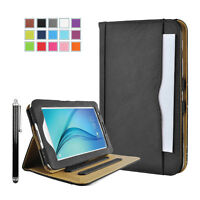 Leather Tablet Stand Flip Cover Case For Samsung Galaxy Tab A 10.1 inch - BLACK