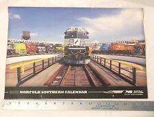 2013 Northfolk Southern Calendar Trains Railroad