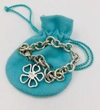 Rare Tiffany & Co. Sterling Silver Open flower Bracelet