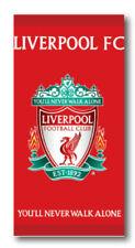 Liverpool Football Club LFC Crest 100 % Cotton towel Beach Swimming Holiday