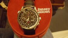 Citizen eco drive red arrows watch (BRAND NEW) chronograph with world time