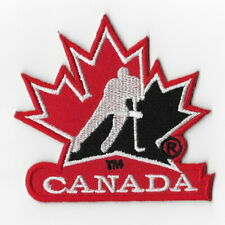 NHL Canada Hockey Team Iron on Patches Embroidered Patch Applique Badge Red