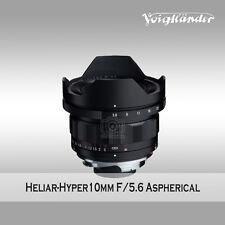 Voigtlander Heliar-Hyper Wide 10mm f/5.6 Aspherical Lens for M Mount camera
