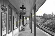 Cranbrook Railway Station Photo. Hawkhurst - Goudhurst. Paddock Wood Line. (20)