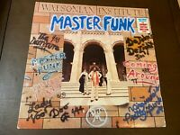Watsonian Institute~Master Funk~Johnny Guitar Watson~VG++Disco Soul LP~FAST SHIP