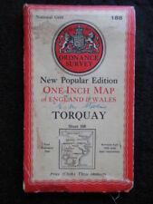 Cornwall 1940-1949 Date Range Antique Europe Sheet Maps