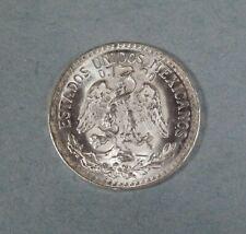 1945 MEXICO 50 CENTAVOS  - Silver - UNCIRCULATED