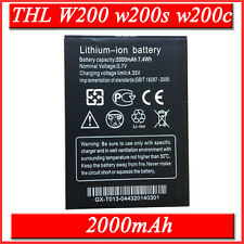 Battery Bateria 2000mAh THL W200 W200c w200s Akku Accu