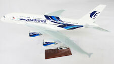 Malaysia Airlines A380 Large  Plane Model Boeing Airplane Apx 45Cm Solid Resin