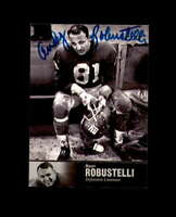 Andy Robustelli Hand Signed 1997 Upper Deck Legends New York Giants Autograph