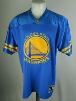 Starter Golden State Warriors Royal Blue Gold Baseball Jersey - NBA ... c899eee55