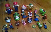 Nintendo Super Mario Bros Knex Boswer Toad Kart Lugi Incredible PVC Figure Lot