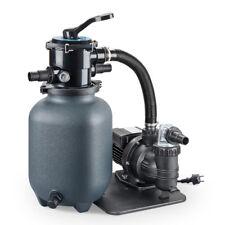 Pool Sandfilter mit Pumpe selbstsaugend bis 20 m³ Sandfilteranlage Sand Filter
