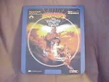Startrek II The Wrath of Khan RCA CED Videodisc (Not a laserdisc)