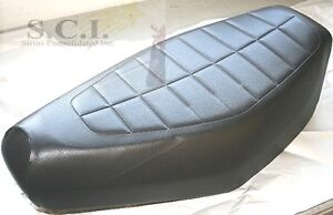 HONDA CH 80 CH80 ELITE 80 BLACK REPLACEMENT SEAT COVER 1985 - 2008