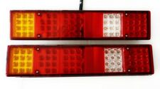 2x 12V 60 LED Stop Rear Tail Indicator Lights Lamps for Ford Transit Chassis