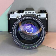 Cámara SLR Olympus om 10 35mm De Cine & Tokina Macro Zoom 35-105mm F3.5 Lente Lomo