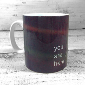 NEW CARL SAGAN PALE BLUE DOT VOYAGER 1 SPACE PROBE GIFT MUG EARTH FROM SPACE