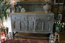Antique Solid Oak sideboard, cabinet. Dresser