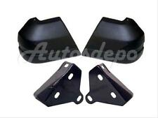 For 84-96 JEEP CHEROKEE / WAGONEER FRONT BUMPER CAP MOUNTING ARM BRACKET 4PC