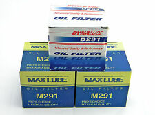 LOT OF 3 NEW MAX LUBE GOLD DYNALUBE M291 D291 ENGINE OIL FILTERS PF963 PH2817