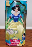 (NEW SEALED) DISNEY MATTEL SNOW WHITE FAIRY TALE COLLECTIBLE DOLL GIRLS TOY