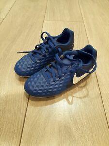 Nike Tiempo Blue Football Boots kids size UK 13