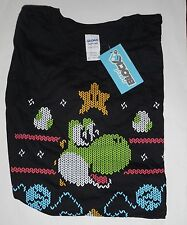 NERD BLOCK Cross Stitch Style Printed YOSHI Mens XL Exclusive Lootcrate