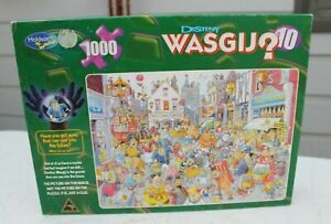 1000pc Wasgij jigsaw - High Street Hassle - Destiny 10. Complete.