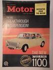 MORRIS 1100 SALOON orig 1962 UK Mkt Advertising Publicity Brochure