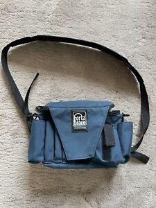 Porta Brace AC-3 Assistant Camera Pouch with Shoulder Strap Blue