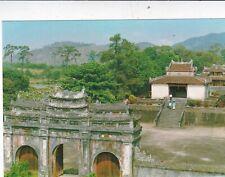 Mausoleum of Minh Mang Vietnam Postcard unused VGC