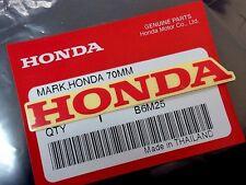 HONDA GENUINE 100%  MARK 70 mm  - RED - STICKER DECAL STICKER LOGO BADGE TANK OI