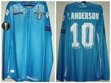 ULTRA RARE ANDERSON SS LAZIO ROMA MATCH WORN  ISSUED SHIRT  EUROPA LEAGUE