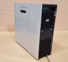 HP Z600 Workstation 2x Xeon X5560 2.80GHz 12GB RAM 240GB SSD + 2x 500GB Win10