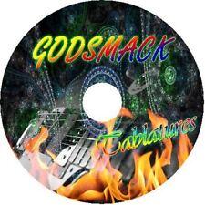 GODSMACK BASS & GUITAR TAB CD TABLATURE GREATEST HITS BEST OF METAL ROCK MUSIC