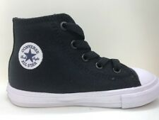 Converse CTAS II Hi Black White And Navy Infant / Toddler Size 9