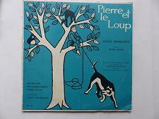 "25 cms 10"" Pierre et le loup PROKOFIEV  PIERRE BERTIN OTTO ACKERMANN MMS 88"