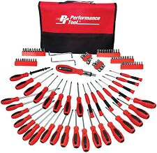 Screwdriver Set Security Precision Tools Case Craftsman Repair PouchMagnet 100pc