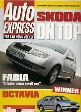 Skoda Fabia & Octavia 2000 UK Market Road Test Brochure Auto Express