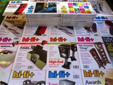 100's of HiFi & Audio Magazines ~ HI-FI PLUS / HI-FI+  ~ price for each