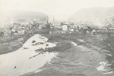 Johnstown PA * 1889 Flood Panoramic View * Camera Shop ca. 1930s