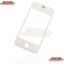 Für Apple iPhone 4 4S Schermo Vetro Vetro LCD Window Frontglass Bianco