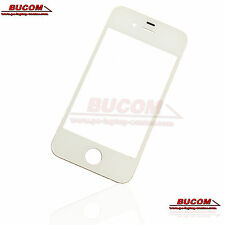 Für Apple iPhone 4 4G Schermo Vetro Vetro LCD Window Frontglass bianco
