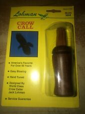 Vintage Lohman Model 104 Crow Call In Original Package