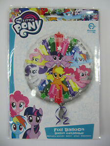 FANTASTIC COLOURFUL MY LITTLE PONY 17 INCH HELIUM FOIL BALLOON
