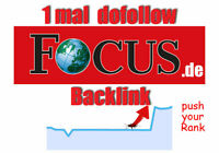 Backlink dofollow FOCUS Backlink Top für Seo Linkaufbau Dofollow High DA Link