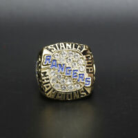Stanley Cup New York Rangers 1994 Championship Ring with Wooden Box