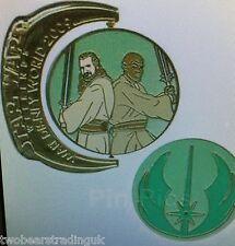 WDW Star Wars Weekends 2009 - Symbols - Jedi Mace Windu and Qui-Gon